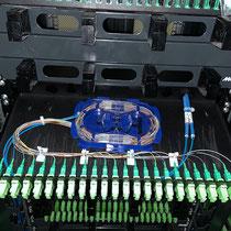 Fusion fibre optique chez un opérateur télécom