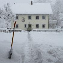 Wer will, darf hier gerne Schnee schippen ;-)