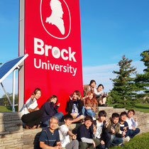 Group photo on campus, Sept. 20, 2019