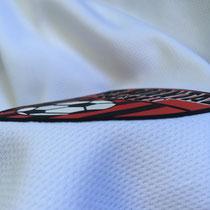 3D-Vereinswappen Nahaufnahme 3 FC Borntal Erfurt Logo mit Haptik by Mr.Flock