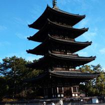 高さ50.1m 京都東寺五重塔に次ぐ高さ