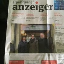 Fraubrunner Anzeiger-Artikel