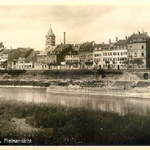 Mainufer 1934