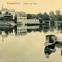 Mainpartie um 1907