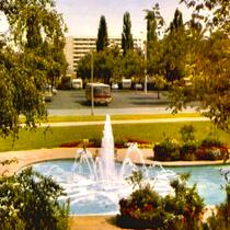 Am Schuttberg in den 1960ern