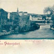 Blick von der Marienbrücke 1899