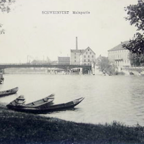 Mainpartie um 1910