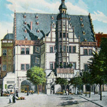 Rathaus um 1902 in anderer Colorierung