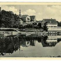 Mainpartie um 1936