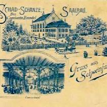 Saalbau um 1900