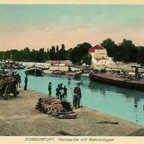Mainpartie an Wehranlagen 1912