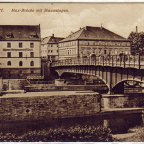 Maxbrücke ca. 1915