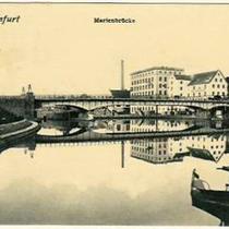 Marienbrücke um 1906