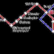 Anfahrt mit der Bahn