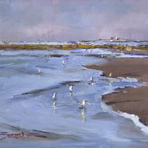 Seagull Sunrise