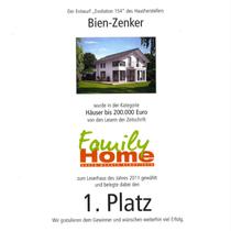 1. Platz Family Home Bien Zenker