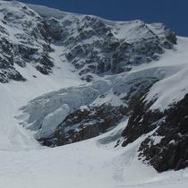 Steingletscher auf 2'300 m - Aufnahme vom Mai 2019