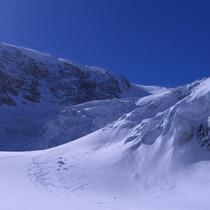 Steingletscher auf 2'300 m - Aufnahme vom April 2007
