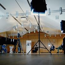 """Moderation der Online-Veranstaltung """"Familienfreundlichkeit und die passende Unternehmenskultur machen erfolgreich und stark – erst recht in Krisenzeiten!"""" Ende Oktober in Geldern; Foto: Medien & Presse Service Gerhard Seybert"""