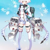 軽巡洋艦フルンゼ - ソノミライラストコンテスト応募作品
