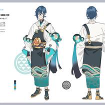 浦島太郎デザイン - お伽話キャラクター化企画に参加した設定画
