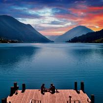 Morning Lake-Breakfast
