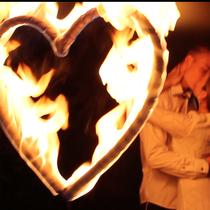 Feuerherz, Die Feuershow für Hochzeiten