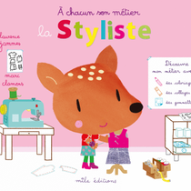 La styliste coloriages, collages, gommettes