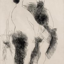 MARINO MARINI, Due Pomone, Orig. Radierung, Wvz 125, 1956, 69/75, handsigniert