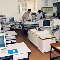 昭和60年代の事務所風景