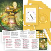 """21 teiliges Symbol-Kartenset """"Die Energie der Bäume"""" welche mit viel Liebe von Michaela Heimel gezeichnet wurden, inkl. 10 seitigem A6 Booklet"""