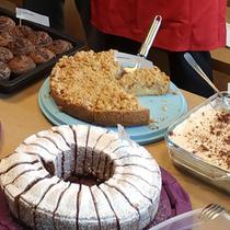 Erfolgreicher Kuchenverkauf bei Vodafone