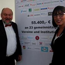 Großzügige Spende Düsseldorfer Banken