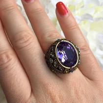 516. Коктейльное кольцо от американского дизайнера HEIDI DAUS. Бронзированный ювелирный сплав, декор CRYSTALLIZED™-Swarovski Elements. Ручная работа, авторский дизайн. Фирменная коробка, пожизненная гарантия. Размер 16-16.5. Цена-90$