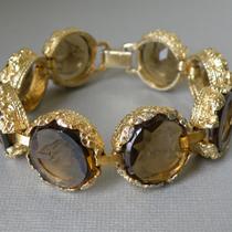 P-1748.  браслет c инталиями от GOLDETTE . Длина 18.5-19см. Италии из стекла с изображением королевы Виктории.