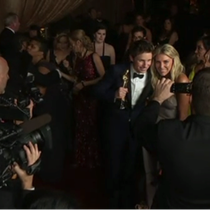 Das Medieninteresse ist gross – im Bild der Oscarpreisträger Eddie Redmayne.