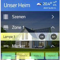 Darstellung im Web-Interface