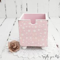 holzbox im sweet-vintage-style... (ohne deko)