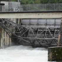 Vanne charpentée du barrage de Dampjoux (25)