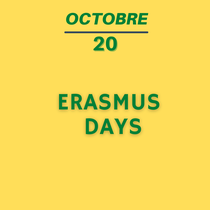 20 octobre -Erasmus Day