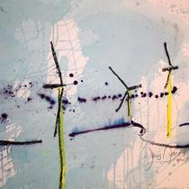 Jens Arnold - Windräder-Landschaft-abstrakt-2012-01
