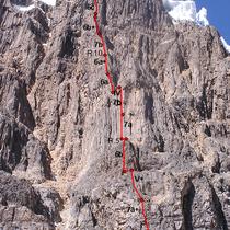 Cordillera Huayhuash. Perú