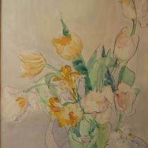 1950, o.T., 35 x 45, Aquarell, Privatbesitz Bonn-Alfter