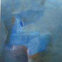 1985, o.T., 50 x 60, Enkaustik, Privatbesitz Bonn-Alfter
