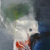 1992, o.T., 50 x 60, Mischtechnik