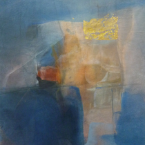 1984, o.T., 32 x 38, Enkaustik, Privatbesitz Bonn-Alfter
