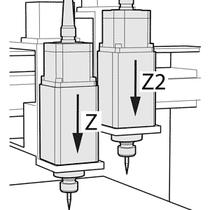 CNC Steuerungssoftware - cncGraF - Zwei-Achs-Steuerung Z und Z2