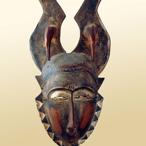 Masque de chasse Gouro-Yaouré