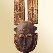 Masque de réjouissance Gouro-Yaouré