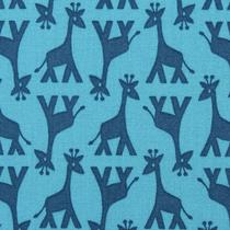 Geo Giraffe blau